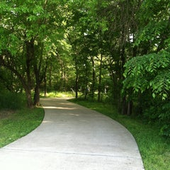 Photo taken at Sam Houston Trails Park by Candyce R. on 4/25/2013