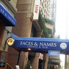 Photo taken at Faces & Names by Camille F. on 11/12/2012
