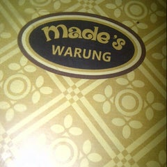 Photo taken at Made's Warung by Gusnia R. on 5/11/2013