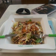 Photo taken at Salad Creations by Presidente M. on 9/29/2013