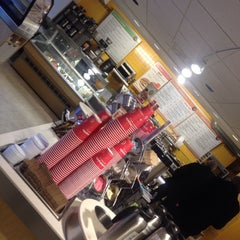 Photo taken at Au Bon Pain by Kevin V. on 1/10/2014