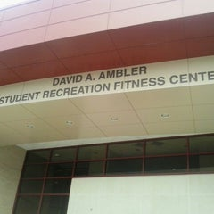 Photo taken at Ambler Student Recreation Fitness Center by Gustavo T. on 7/11/2014