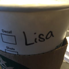 Photo taken at Starbucks by Lisa D. on 1/21/2016