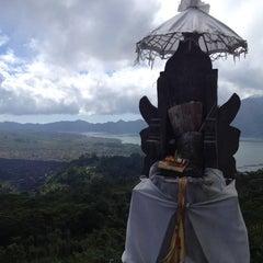 Photo taken at Batur View Spot by Manabu K. on 5/27/2014