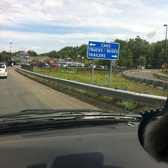 Photo taken at Lee Service Plaza (Eastbound) by Amanda L. on 7/24/2013