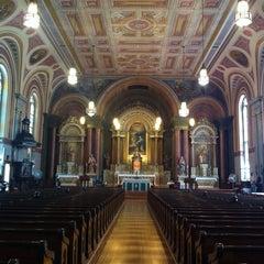 Photo taken at Old Saint Mary's Catholic Church by Emily V. on 7/13/2013