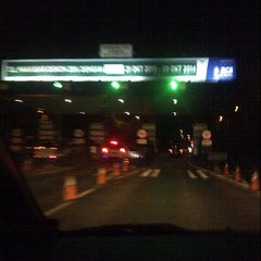 Photo taken at Gerbang Tol Cambaya by Sherly J. on 5/31/2014