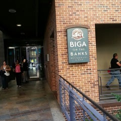 Photo taken at Biga on the Banks by Mary M. on 4/11/2013