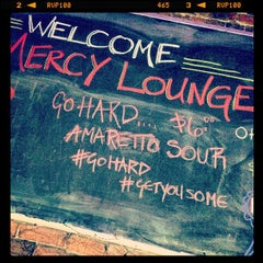 Photo taken at Mercy Lounge by Andrew M. on 2/9/2013