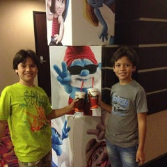 Photo taken at Cinemark by Paola Andrea B. on 8/10/2013