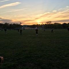 Photo taken at WAKA DC Capital Kickball Fields by Ame on 4/13/2016