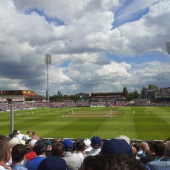 Photo taken at Emirates Old Trafford by Anis S. on 8/4/2013
