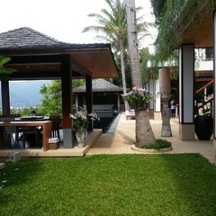 Photo taken at Andara Resort Villas Phuket by Jonathan Y. on 5/2/2014