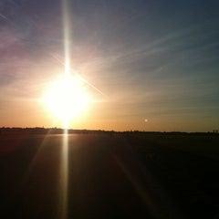 Photo taken at Tempelhofer Park by Brian B. on 9/30/2012