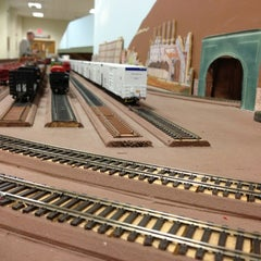 Photo taken at South Shore Model Railway Club by Jeff C. on 3/23/2013