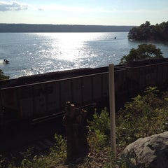 Photo taken at Cayuga Lake by Mark on 8/10/2014