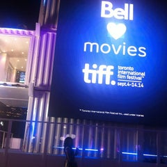 Photo taken at TIFF Bell Lightbox by Maryoumi A. on 9/4/2014