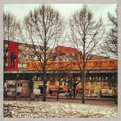 Photo taken at U Schlesisches Tor by Fernanda S. on 1/20/2013