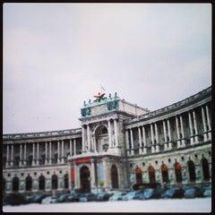 Photo taken at Österreichische Nationalbibliothek - Austrian National Library by Fernanda S. on 1/16/2013