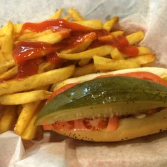 Photo taken at George's Hot Dogs by Sven on 11/2/2013