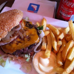 Photo taken at Burger Bar by Lio on 10/4/2012