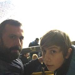 Photo taken at Ülker Stadyumu Fenerbahçe Şükrü Saracoğlu Spor Kompleksi by Nuri İ. on 3/13/2016