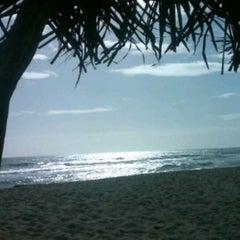 Photo taken at Playa Pelúa by Juan M. on 6/24/2013