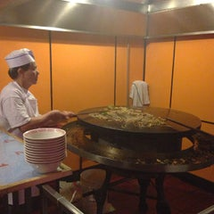 Photo taken at Yuan Palace Mongolian BBQ by John K. on 1/23/2013