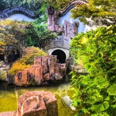 Photo taken at Chinese Scholars' Garden by Jeffrey P. on 7/25/2015