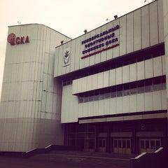 Photo taken at ПБК ЦСКА / PBC CSKA by Nadia P. on 9/28/2012