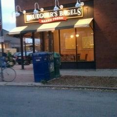 Photo taken at Bruegger's by Bob T. on 10/4/2012