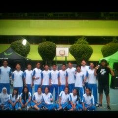 Photo taken at SMA Negeri 68 Jakarta by Prasetya A. on 10/22/2013
