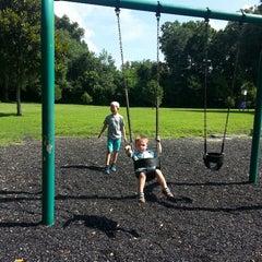 Photo taken at Kanapaha Veterans Memorial Park by Vicky K. on 6/26/2014