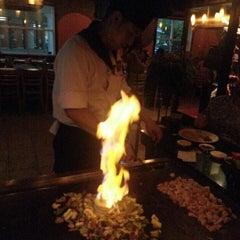 Photo taken at Yamato Japanese Steakhouse by Vicky K. on 4/19/2014