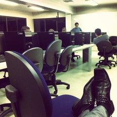 Photo taken at Universidade Cruzeiro do Sul - Campus Pinheiros by Hugo M. on 10/30/2012