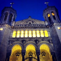 Photo taken at Basilique Notre-Dame de Fourvière by Pinay Flying H. on 4/16/2013