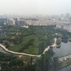 Photo taken at Four Points by Sheraton Guangzhou, Dongpu by Jitin N. on 10/30/2014