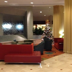 Photo taken at Greenbelt Marriott by Riley L. on 12/15/2012