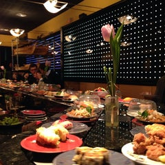 Photo taken at Zen Sushi by Lucy Jean L. on 2/11/2014