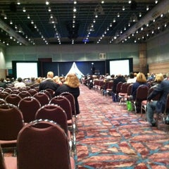 Photo taken at Atlantic City Convention Center by Elise K. on 12/5/2012