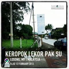 Photo taken at Keropok Lekor Pak Su by Shazwan N. on 2/12/2013