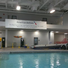 Photo taken at American Airlines Flight Academy / IOC by Brett R. on 3/8/2014