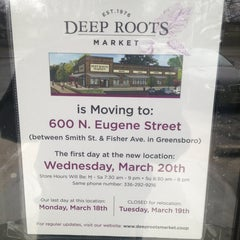Photo taken at Deep Roots Market by Joseph W. on 3/26/2013