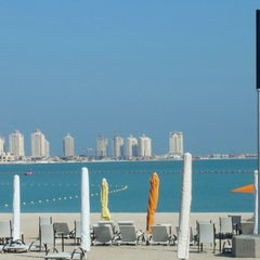 Photo taken at Al Yazwa Public Beach by Ahmed B. on 12/2/2014