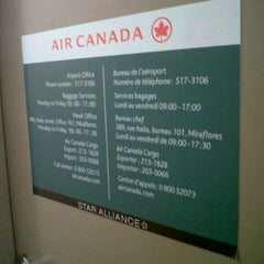 Photo taken at Air Canada back office by Carlos B. on 11/27/2012
