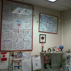 Photo taken at Air Canada back office by Carlos B. on 11/18/2012