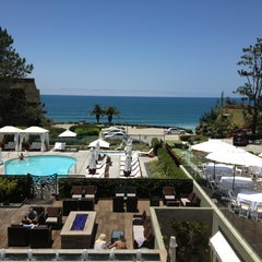 Photo taken at L'Auberge Del Mar by Winnie P. on 6/10/2013