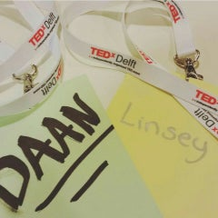 Photo taken at TEDxDelft by Linsey J. on 4/15/2016
