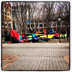 Photo taken at 2 MetroTech Center by Charlie O. on 4/23/2014