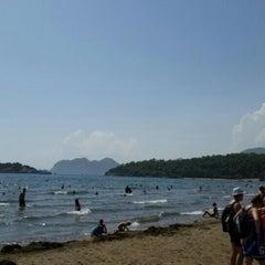Photo taken at İztuzu Plajı by Yiğit Can Ö. on 8/16/2015